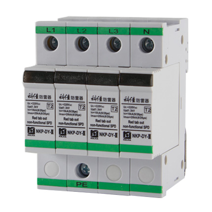 AC SPD – 20kA per phase surge protection devices  NKP-DY-III-20-4P z