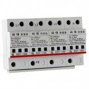 AC SPD – 100kA per phase surge protection devices KDY-100-4P y