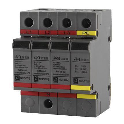 AC SPD – 80kA per phase surge protection devices  NKP-DY-I-80-3P+1 z