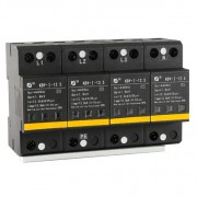 AC SPD – T1- 12.5kA per phase surge protection devices  KDY-I-12.5-4P y