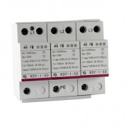 AC SPD – T1- 50kA per phase surge protection devices  KDY-I-50-3P y