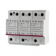 AC SPD – T1- 50kA per phase surge protection devices  KDY-I-50-3P z