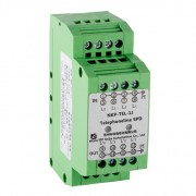 telephone line, terminals ADSL surge suppressor NKP-TEL-1J
