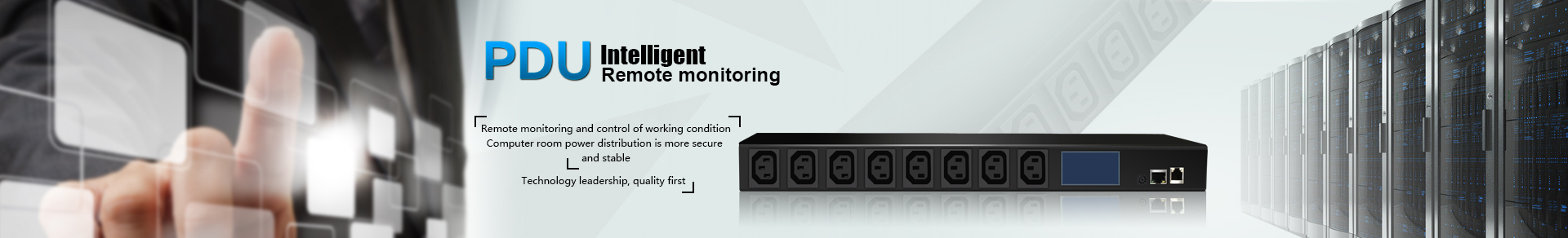 Intelligent Remote Monitoring PDU