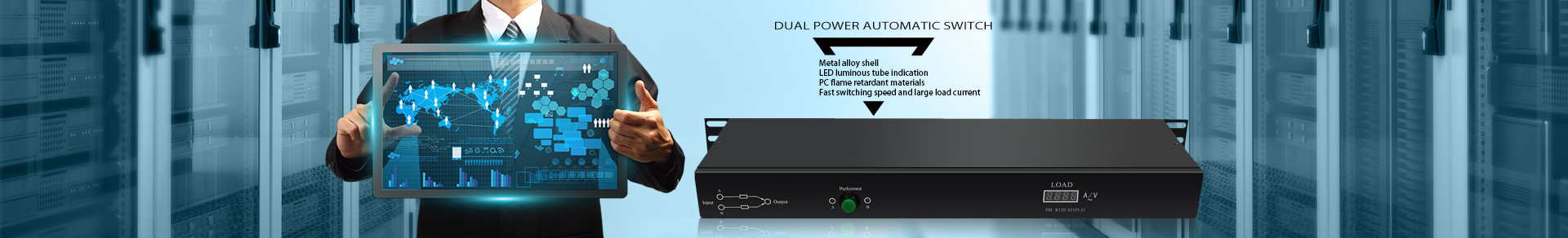 Dual Power Automatic Switch